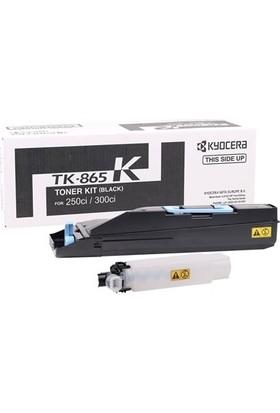 Kyocera Mita TK-865 Siyah Toner Taskalfa 250ci-300ci