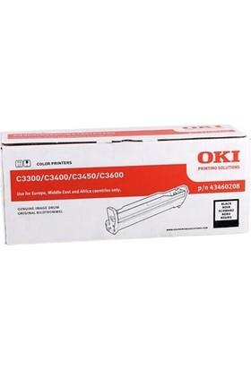 Oki C3300 Drum Siyah C3400-C3450-C3600 43460208 15.000 Sayfa