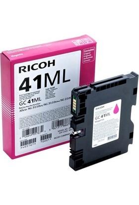 Ricoh GC-41ML Kırmızı Jel Kartuş SG-2100N-SG3110-SG3120-SG7100DN405767