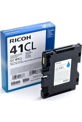 Ricoh GC-41CL Mavi Jel Kartuş SG-2100N-SG3110-SG3120-SG7100DN 405766