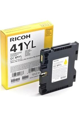 Ricoh GC-41YL Sarı Jel Kartuş SG-2100N-SG3110-SG3120-SG7100DN 405768