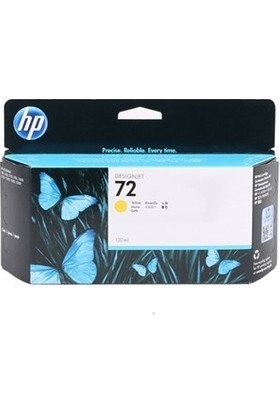 HP C9373A NR72 Sarı Mürekkep Kartuş 130ml T100-T610-1100-T1120