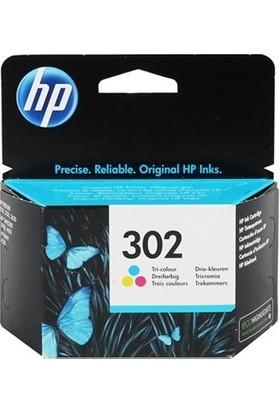HP F6U65AE NR302 Renkli Mürekkep Kartuş