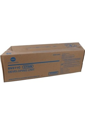 Minolta DV-311 Developer Unit Mavi C220-C280-C360 A0XV0KD