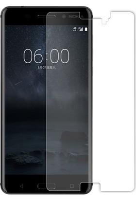 Case 4U Nokia 8 Ekran Koruyucu Temperli Cam