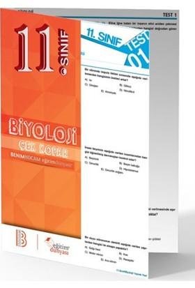 Benim Hocam Yayınları 11. Sınıf Biyoloji Çek Kopar Yaprak Test