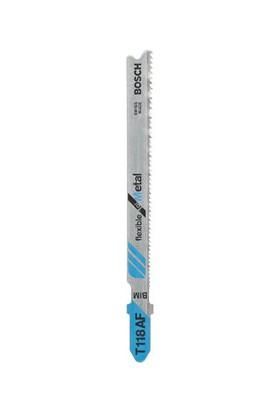 Bosch - Kırılmaya Karşı Dayanıklı Seri Metal İçin T 118 Af Dekupaj Testeresi Bıçağı - 5'Li Paket