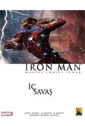 Iron Man İç Savaş Türkçe Çizgi Roman-Daniel Knauf