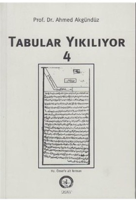 Tabular Yıkılyor - 4-Ahmed Akgündüz