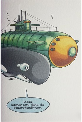 Penguen Büyük Defter: Balina ve Denizaltı