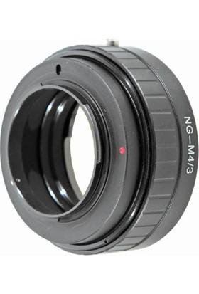 Green.L Olympus ve Panasonic Micro 4/3 Bayonetli Makinalarda Nikon G Tipi Lensleri Kullanma Adaptörü