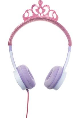 Zagg Little Rockerz Kostüm Kablolu Kulaklık - Pembe Tiara