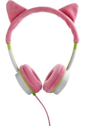 Zagg Little Rockerz Kostüm Kablolu Kulaklık - Pembe Tilki