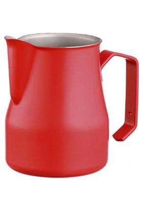 Motta Kumlama Latte Art Süt Potu Kırmızı (Pitcher) - 50 cl