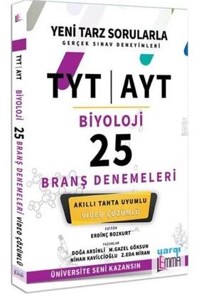 Yargı Lemma Yayınları TYT AYT Biyoloji Video Çözümlü 25 Branş Denemeleri - Doğa Arsinli