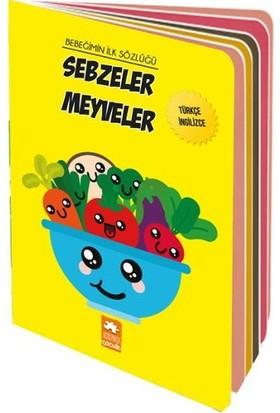 Bebeğimin İlk Sözlüğü: Sebzeler Meyveler