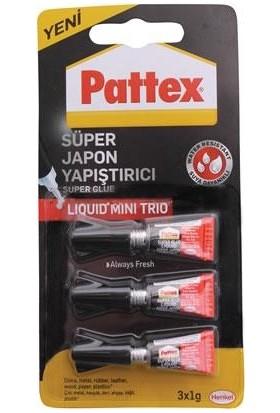 Pattex Süper Japon Mini Trio 3x1gr