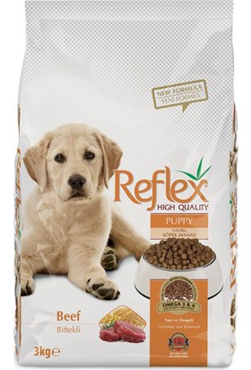 Reflex Puppy Beef Biftekli Yavru Köpek Maması 3 Kg