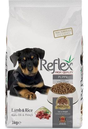 Reflex Puppy Lamp&Rice Kuzu Etli & Pirinçli Yavru Köpek Maması 3 Kg