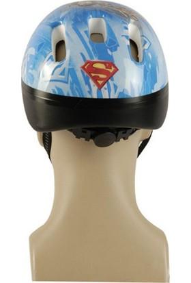 Superman Lisanslı Çocuk Bisiklet Kaskı- Juniour