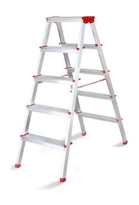 Akrobat Merdiven Çift Çıkışlı 5 Basamak