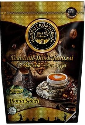 Harput Kürsübaşı Osmanlı Dibek Damla Sakızlı Çedene Kahvesi 250 gr
