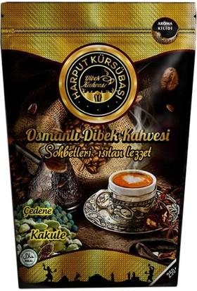 Harput Kürsübaşı Osmanlı Dibek Kakuleli Çedene Kahvesi 250 gr