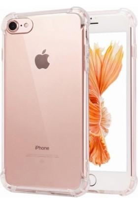 Zengin Çarşım Apple iPhone 7 - 8 Ultra İnce Şeffaf Airbag Anti Şok Silikon Kılıf - Şeffaf