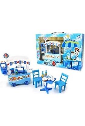 Beren Seafood Cart Yemek Arabası