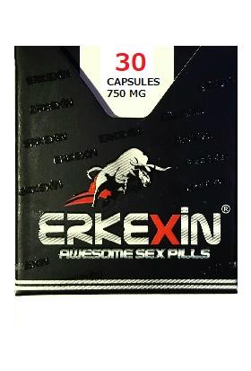 Erkexin Çakşır Otlu Bitkisel 30 Kapsül