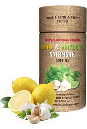 Limon Maydanoz Sarımsak Kürü Soft Jel