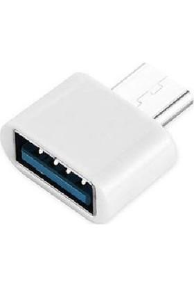 Kuvars Type-C USB 3.0 Otg Çevirici Dönüştürücü Adaptör Bağlantı Aparatı