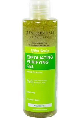 New Essentials Siyah Nokta Temizleyici Aloe Vera Peeling Jel Yağlı Cilt 200 ml