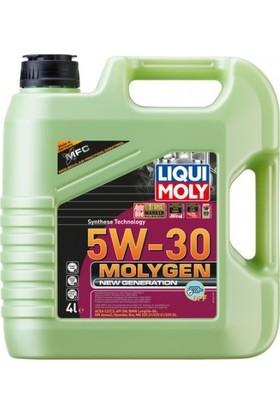 Liqui Moly Molygen 5W30 Yeni Nesil ( DPF ) Yeşil Motor Yağı 4 lt