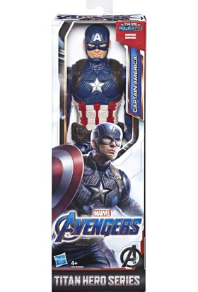 Avengers Endgame Titan Hero Figür Captain America E3309-E3919