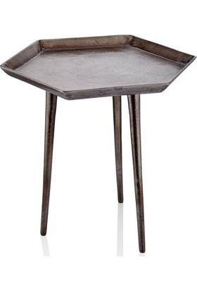 Cemile He x a Bronz Sehpa 47 x 41 x 44 cm