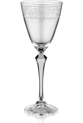 Cemile Paısley 6 lı Kırmızı Şarap Kadehi