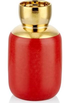 Cemile Red Dragon Gold Mumluk Küçük 9 x 9 x 20 cm