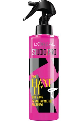 L'Oréal Paris Studio Pro Heat It Hot And Big Spray 200 Ml