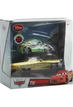 İlgili Dükkan Disney Arabalar Serisi Diecast Metal Model Antika 2 Li Araba Wingo Tex Karakter Oyuncak