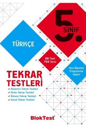 5 Sınıf Türkçe Tekrar Testleri Tudem Yayınları