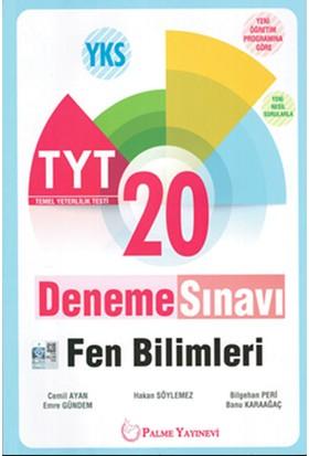 Yks Tyt Fen Bilimleri Denemeleri Palme Yayınları - Cemil Ayan