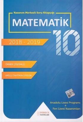 10 Sınıf Fen Lisesi Matematik Derece Yayınları