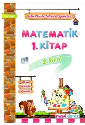 2 Sınıf Matematik 1 Dönem Etkinliklerle Çalışma Mavi Deniz Yay