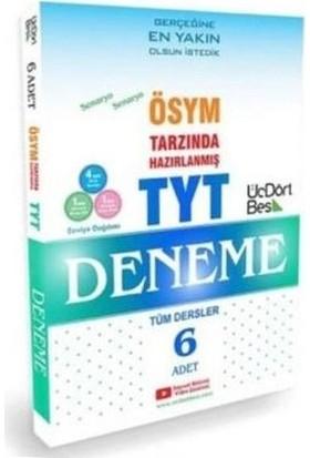 Üçdörtbeş Yayınları Tyt Tüm Dersler 6 Lı Deneme