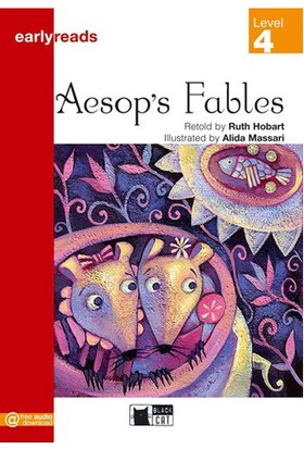 Aesops Fables Earlyreaders Level 4 Black Cat - Ruth Hobart