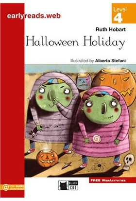 Halloween Holiday Earlyreaders Level 4 Black Cat - Ruth Hobart