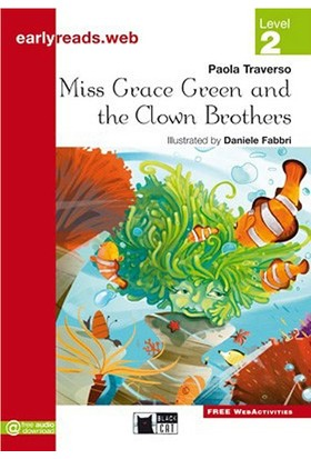 Miss Grace Green And The Clown Brothers Earlyreaders Level 2 Black Cat - Paola Traverso