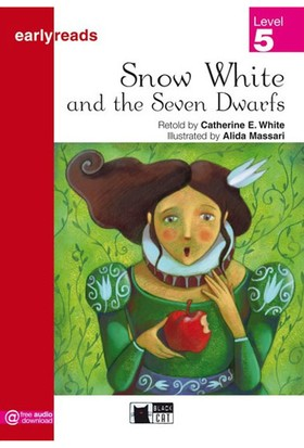 Snow White And The Seven Dwarfs Earlyreaders Level 5 Black Cat - Catherine E. White