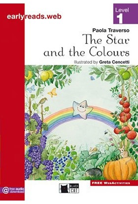 The Star And The Colours Earlyreaders Level 1 Black Cat - Paola Traverso